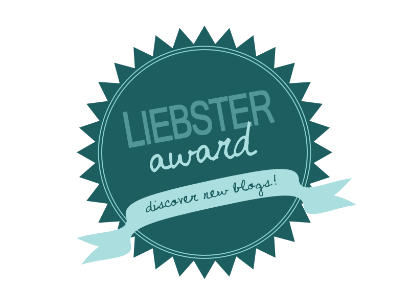 Our Liebster Award Nomination!!