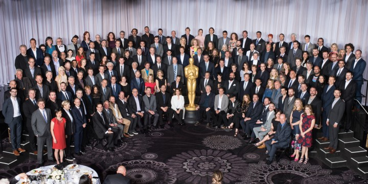Nominees for the 88th Oscars® at the Nominees Luncheon at the Beverly Hilton, Monday, February 8, 2016. The 88th Oscars®, hosted by Chris Rock, will air on Sunday, February 28, live on ABC.