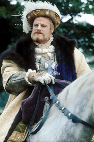 Keith Mitchell as King Henry VIII