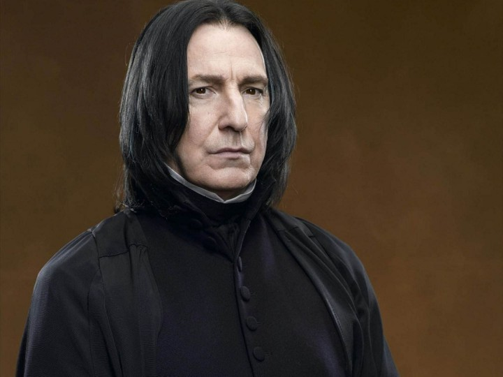 Alan Rickman portrayed Severus Snape in 8 Harry Potter films, between 2001 and 2011.