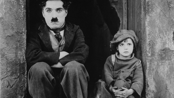 Charlie Chaplin and Jackie Coogan in The Kid (1921)