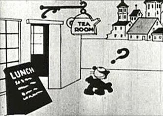 Felix The Cat in a 1919 short.