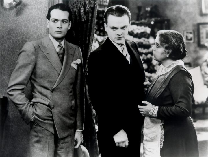 James Cagney (Centre) in 1931's The Public Enemy.