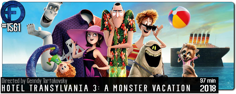 Movie Review – Hotel Transylvania 3: A Monster Vacation